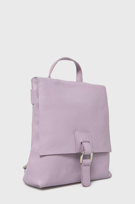 Answear Lab - Kožený ruksak  100% Prírodná koža