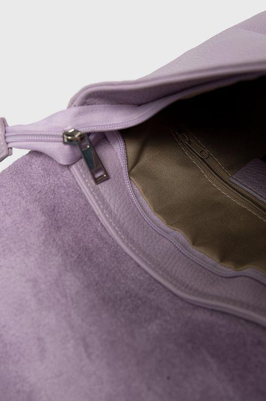 Answear Lab - Kožený ruksak Dámsky
