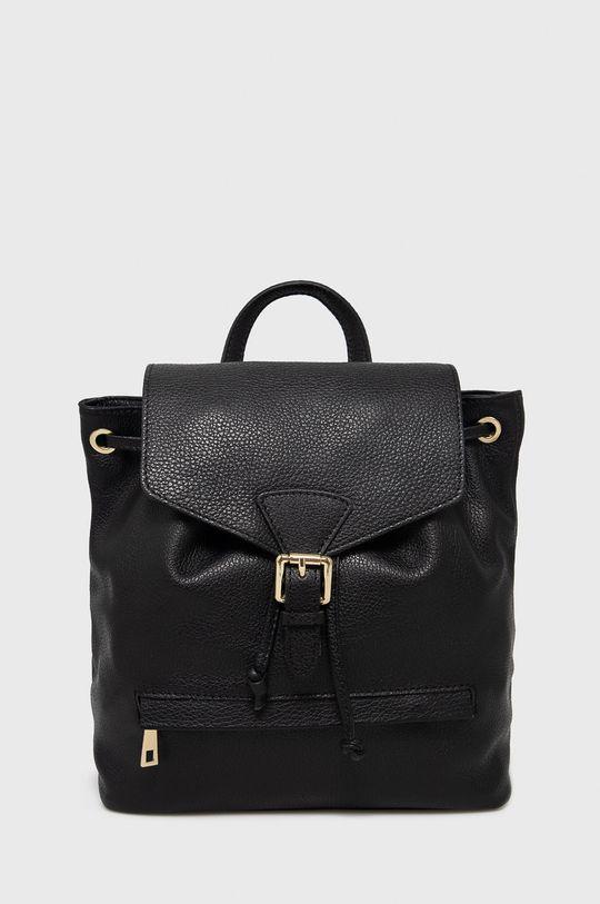 čierna Answear Lab - Kožený ruksak Dámsky