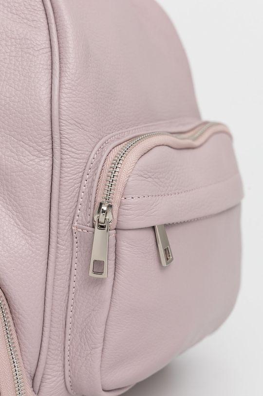 Answear Lab - Plecak skórzany różowy