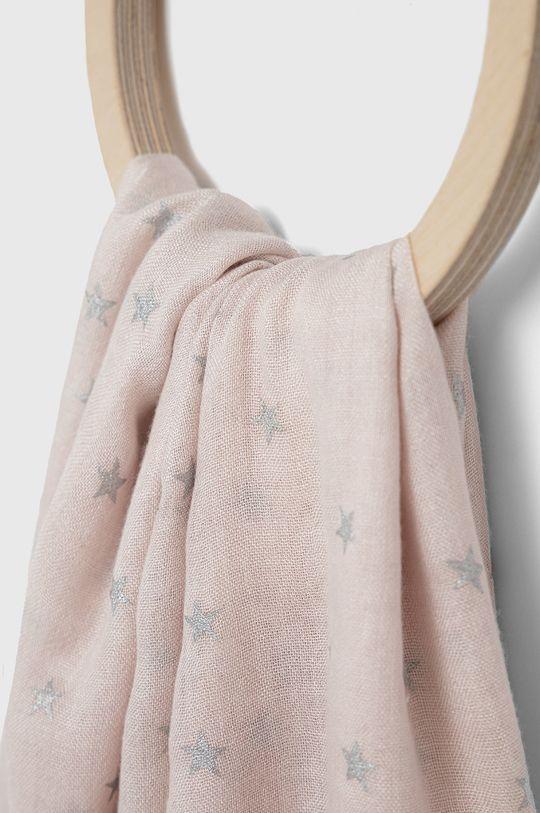 Answear Lab - Szal pastelowy różowy