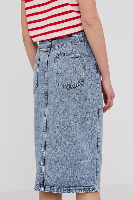 Answear Lab - Fusta jeans  100% Bumbac