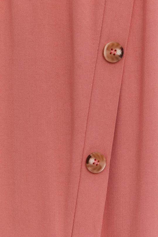 ružová Answear Lab - Sukňa