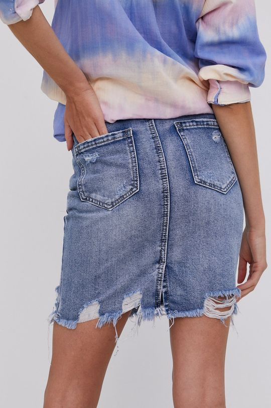 Answear Lab - Rifľová sukňa  100% Bavlna