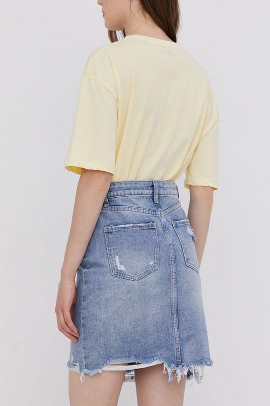 Answear Lab - Džínová sukně  100% Bavlna