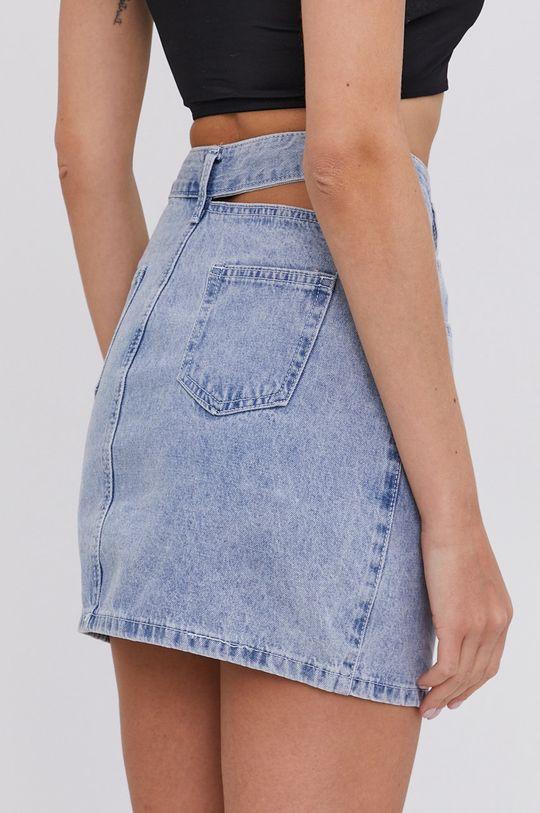 Answear Lab - Džínová sukně  65% Bavlna, 35% Polyester