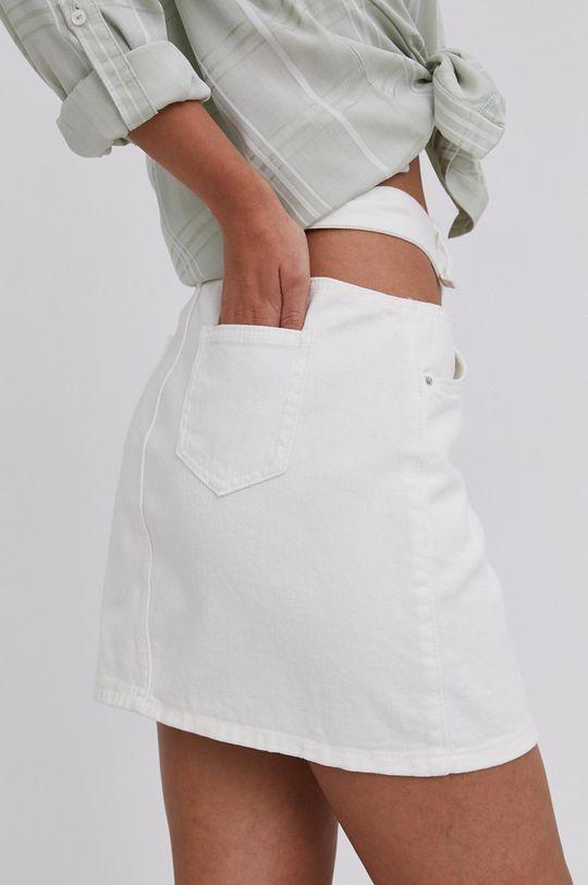 Answear Lab - Rifľová sukňa  65% Bavlna, 35% Polyester