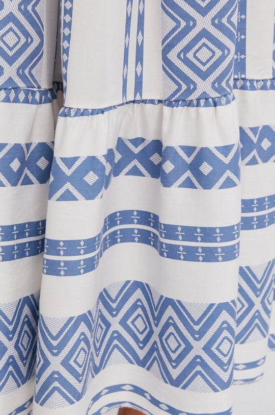 niebieski Answear Lab - Spódnica Lyocel Sustainable