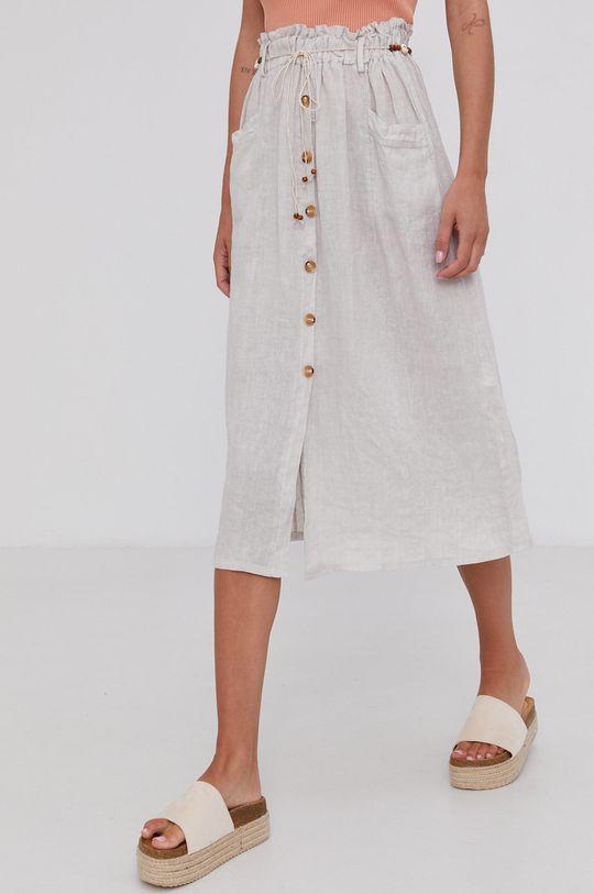 beżowy Answear Lab - Spódnica Damski