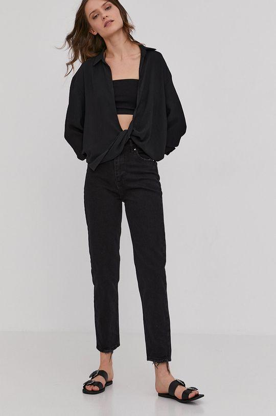 Answear Lab - Jeansi negru