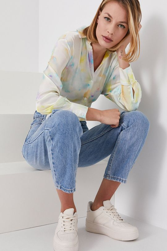 niebieski Answear Lab - Jeansy