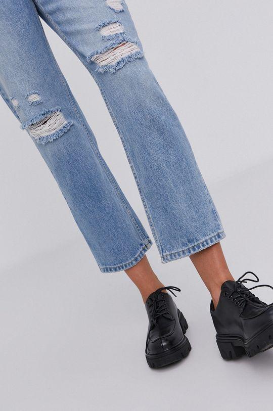 niebieski Jeansy answear.LAB X kolekcja limitowana GIRL POWER