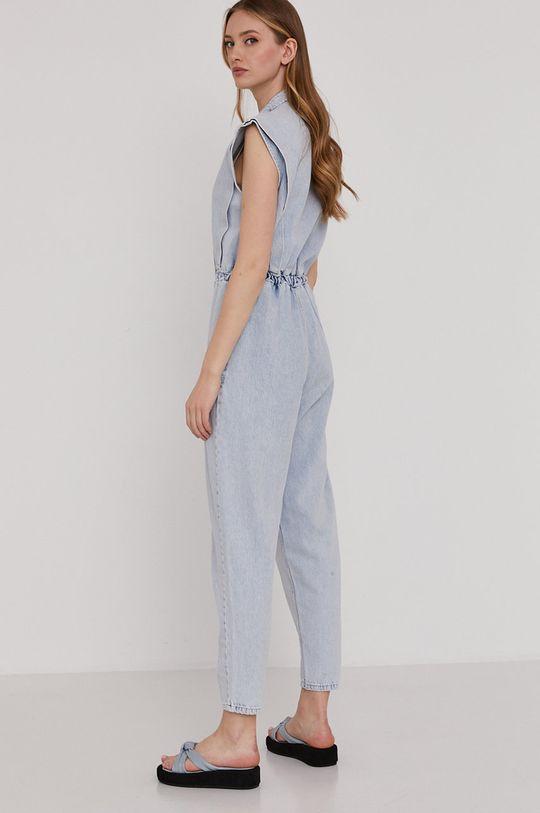 Answear Lab - Kombinezon jeansowy 100 % Bawełna
