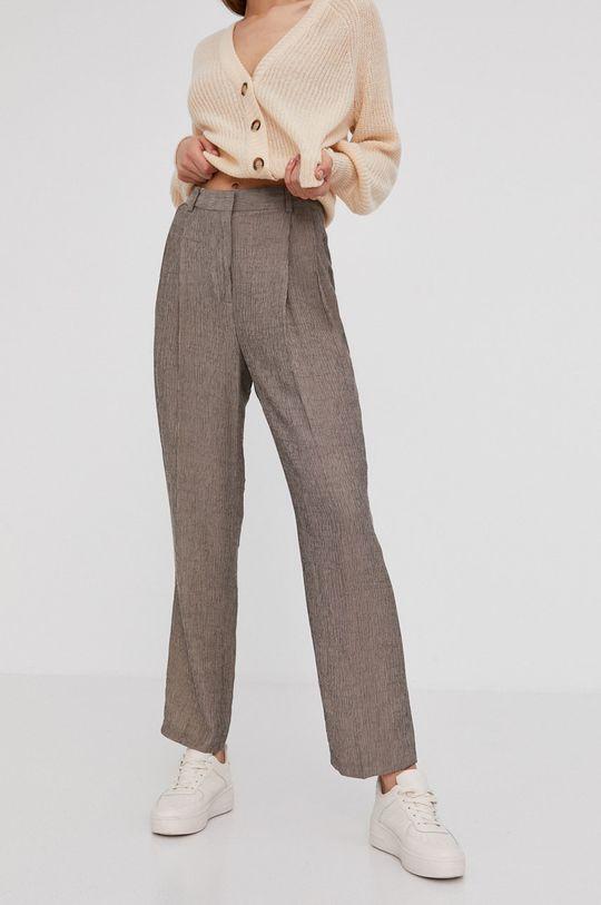 beżowy Answear Lab - Spodnie Damski