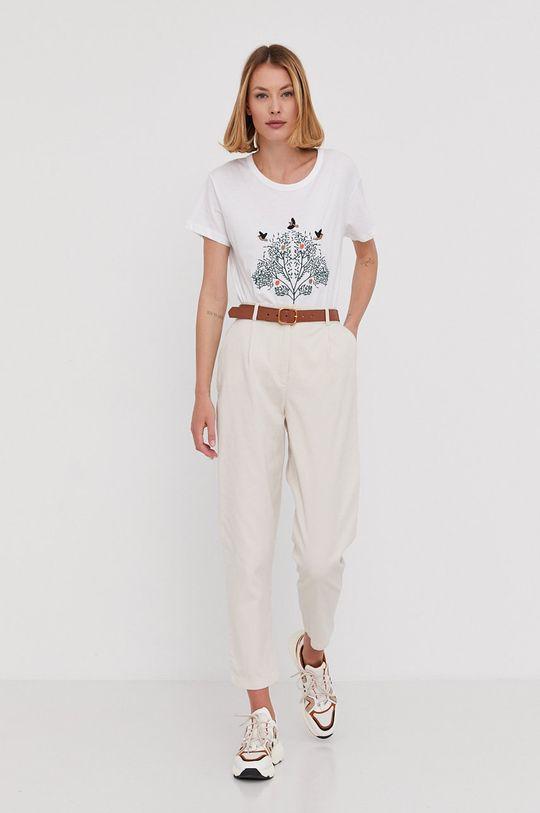 Answear Lab - Spodnie beżowy