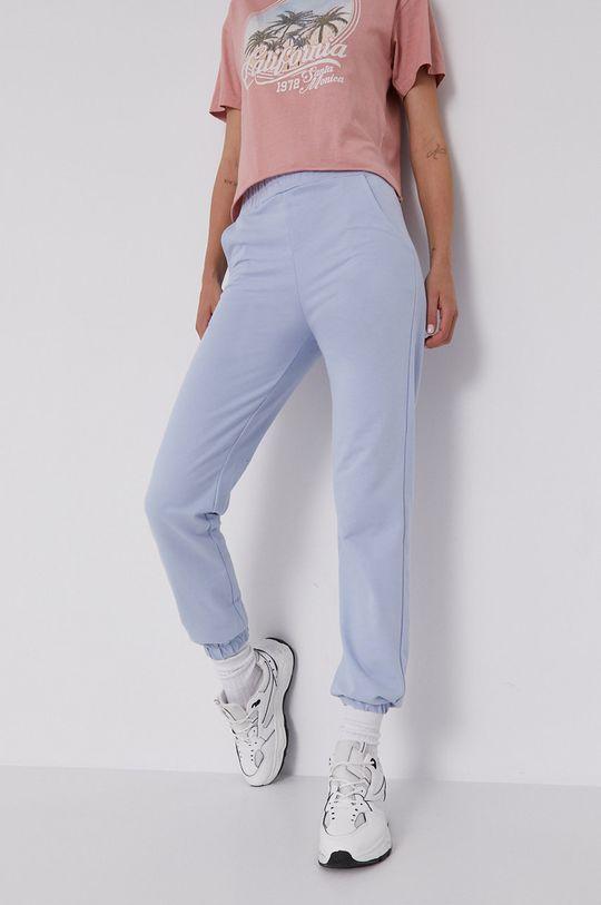 modrá Answear Lab - Kalhoty Dámský