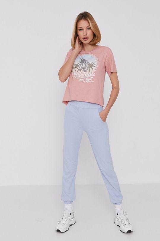 Answear Lab - Kalhoty modrá