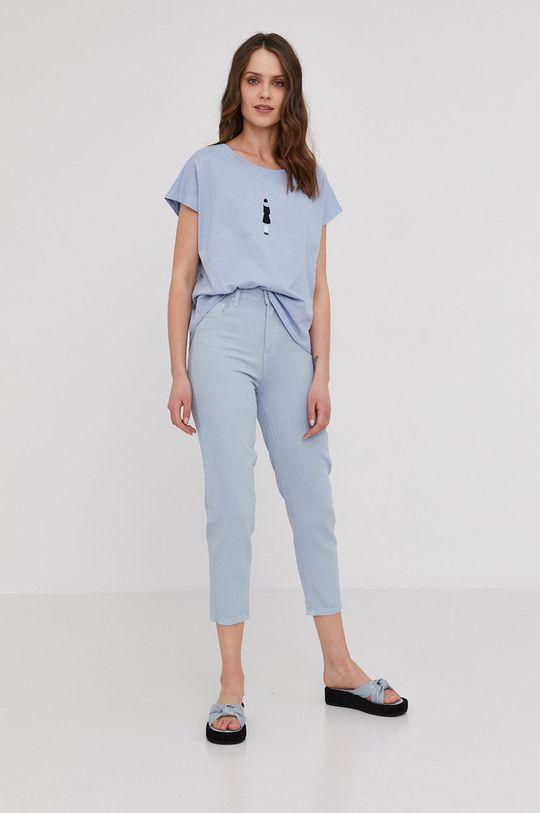 Answear Lab - Spodnie niebieski