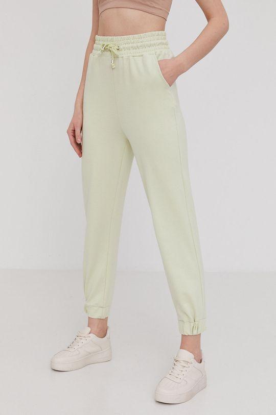 zielony Answear Lab - Spodnie Damski