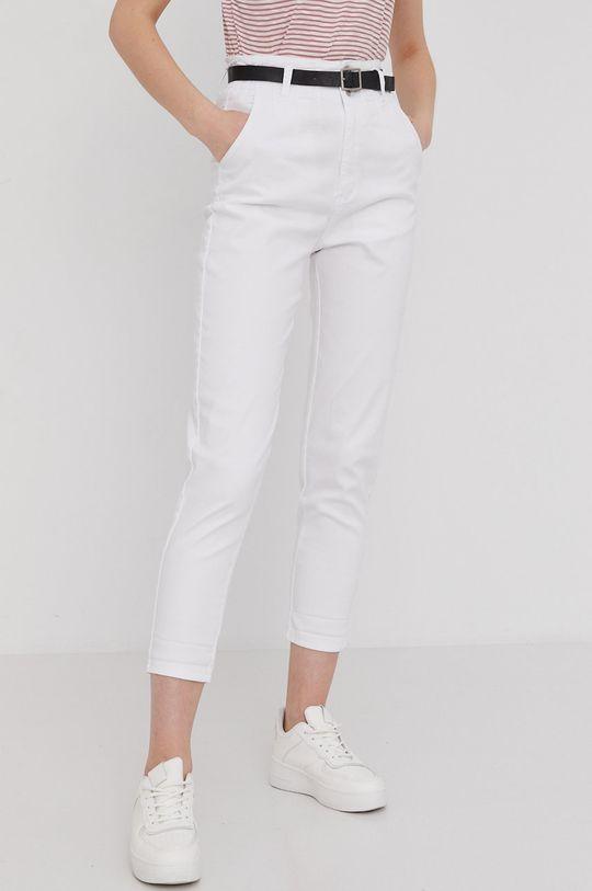 biały Answear Lab - Jeansy Damski
