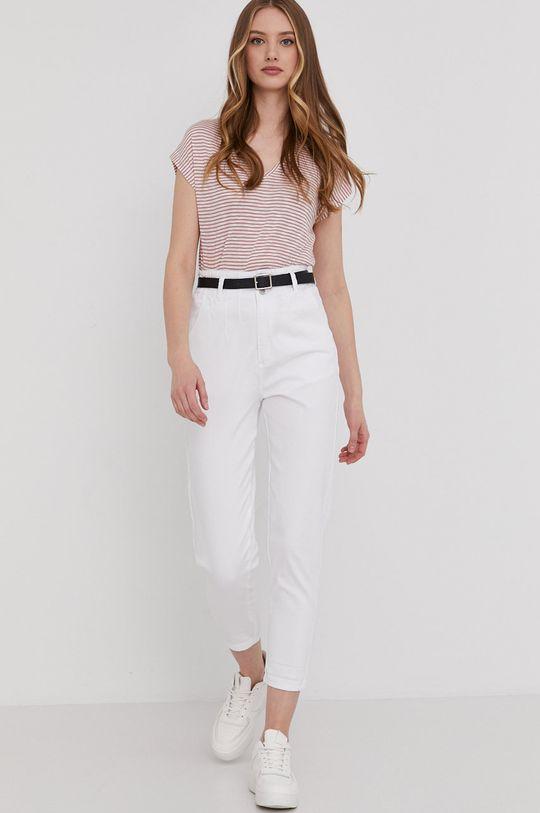 Answear Lab - Jeansy biały