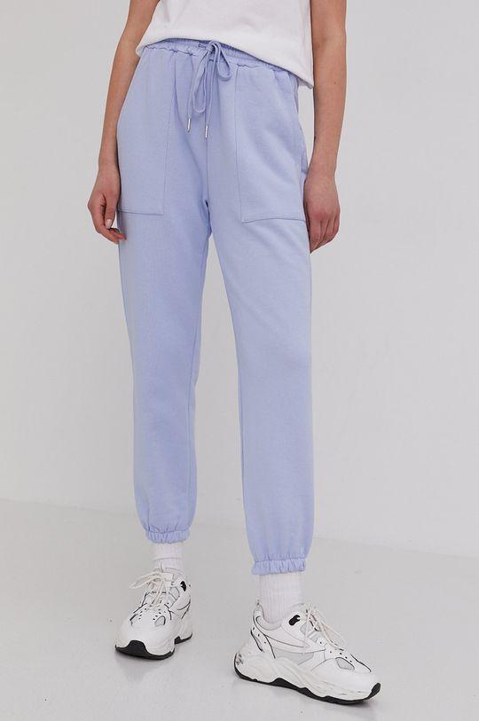 albastru Answear Lab - Pantaloni De femei