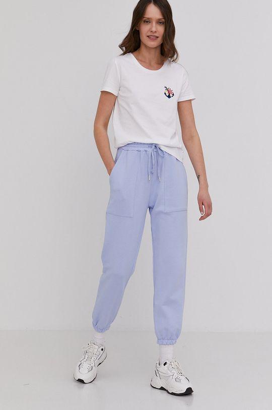 Answear Lab - Pantaloni albastru