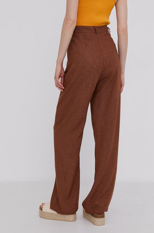 Answear Lab - Spodnie 65 % Bawełna, 35 % Len