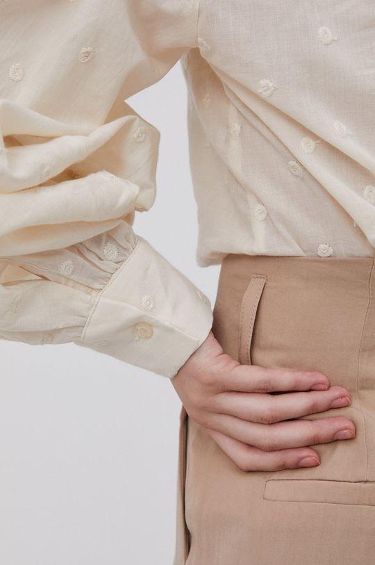 beżowy Answear Lab - Spodnie