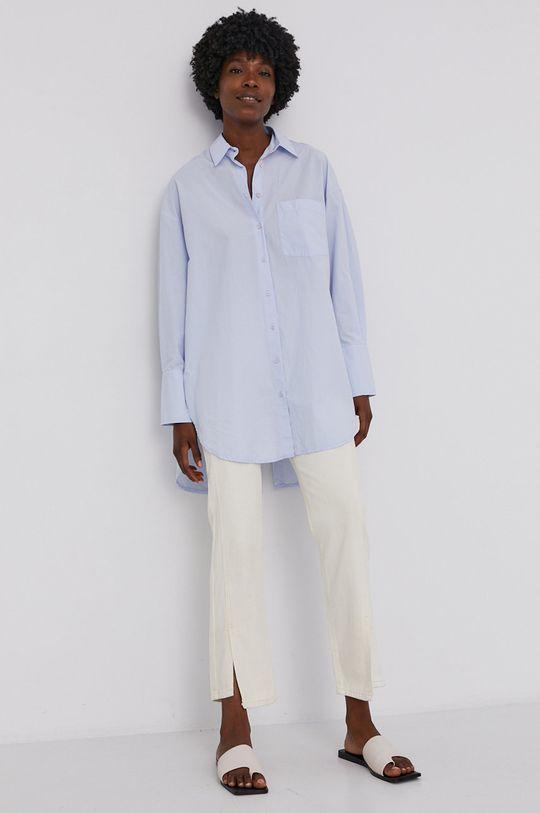 Answear Lab - Spodnie kremowy