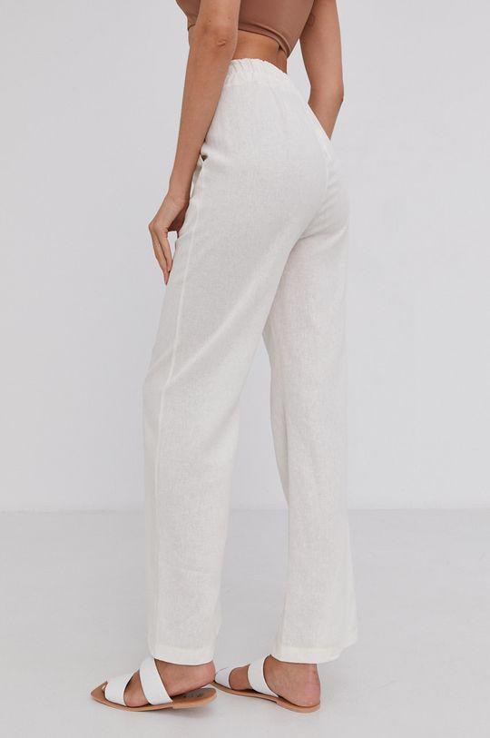 Answear Lab - Plátěné kalhoty Pure Linen  58% Len, 42% Viskóza