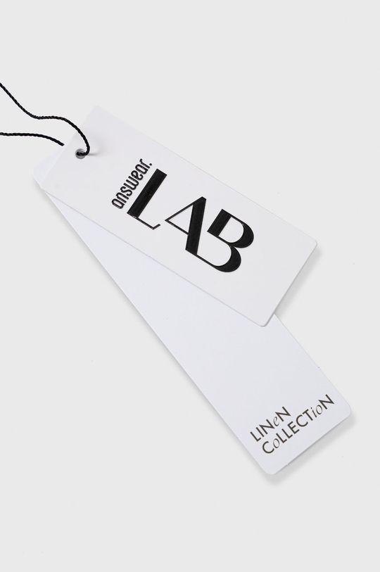Answear Lab - Spodnie lniane Pure Linen Damski