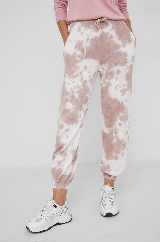Answear Lab - Spodnie różowy