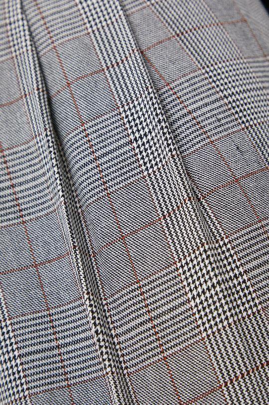 szary Answear Lab - Spodnie z domieszką wełny