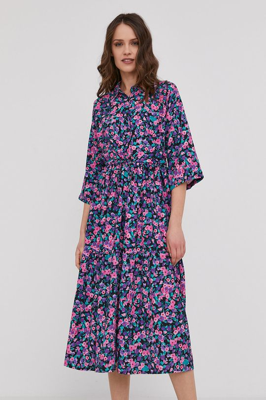 fioletowy Answear Lab - Sukienka