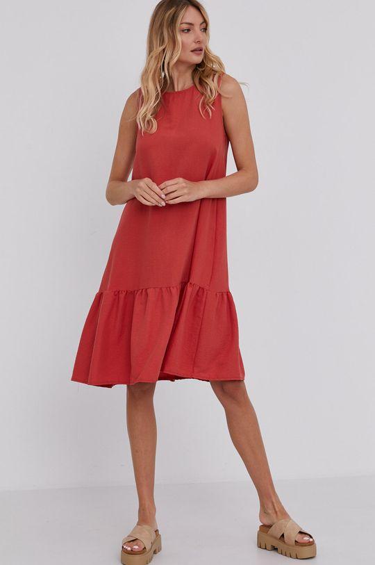 Answear Lab - Šaty červená