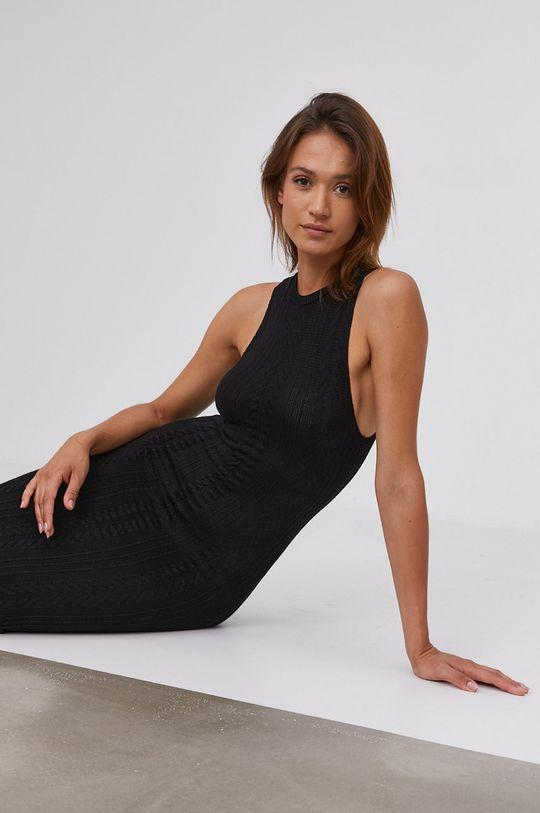 czarny Answear Lab - Sukienka Damski