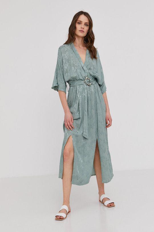 miętowy Answear Lab - Sukienka