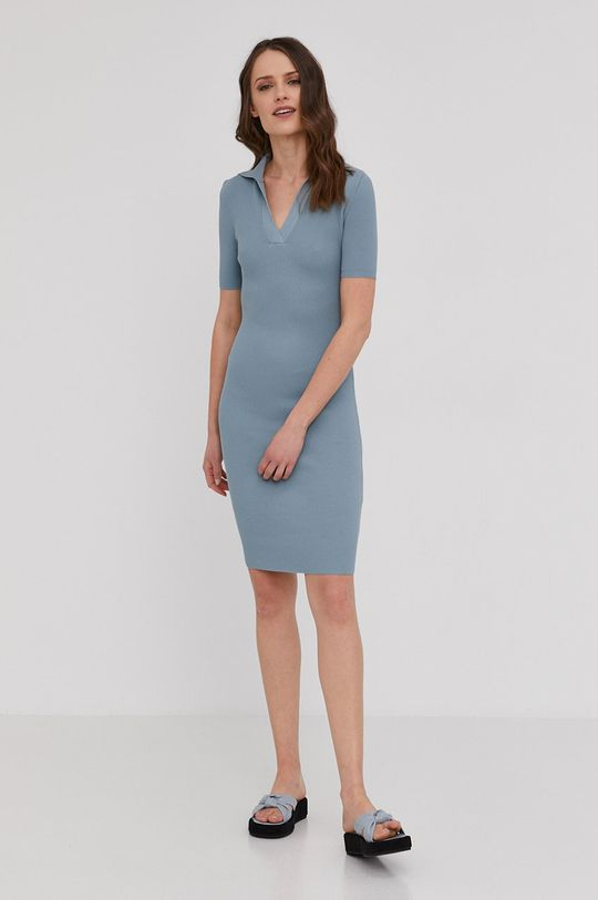 Answear Lab - Sukienka niebieski