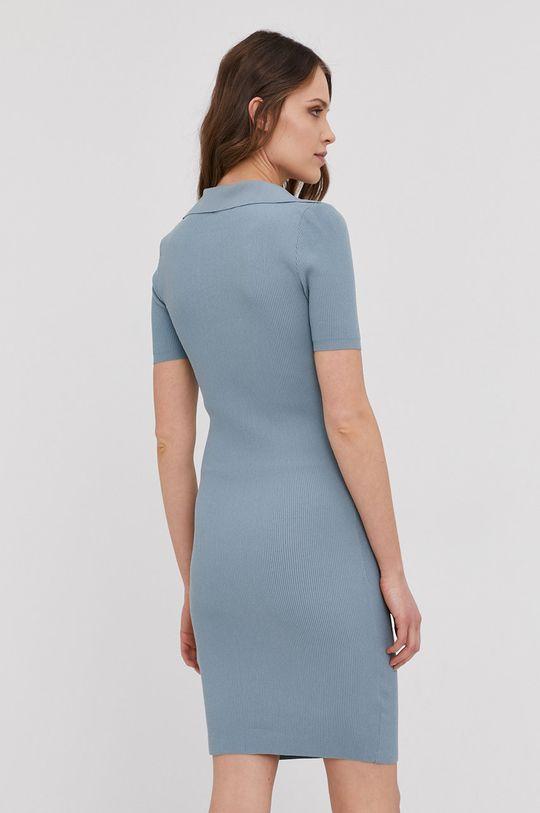 Answear Lab - Sukienka 60 % Bawełna, 40 % Poliester