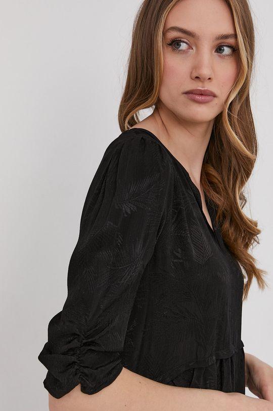 čierna Answear Lab - Šaty