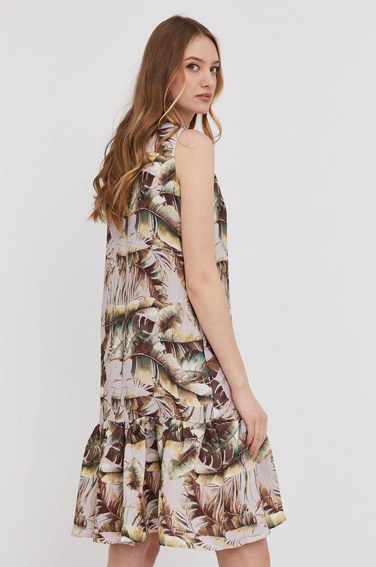 Answear Lab - Sukienka 70 % Bawełna, 30 % Len