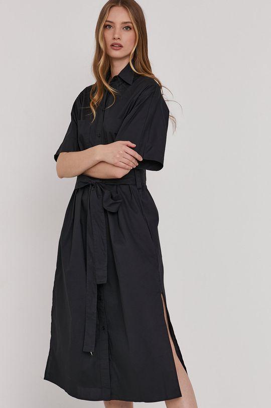 čierna Answear Lab - Šaty Dámsky