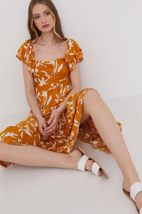 galben Answear Lab - Rochie De femei