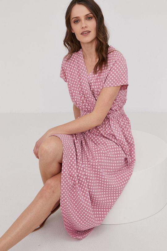 roz Answear Lab - Rochie De femei
