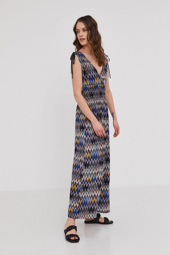 Answear Lab - Sukienka 5 % Elastan, 95 % Wiskoza