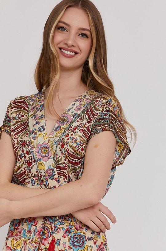 krémová Answear Lab - Šaty