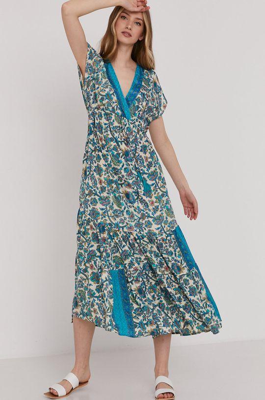 Answear Lab - Sukienka turkusowy