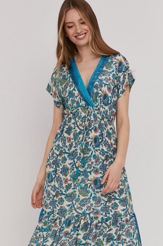 turkusowy Answear Lab - Sukienka