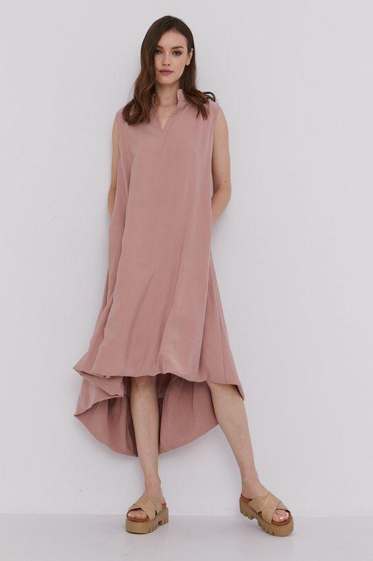 Answear Lab - Sukienka różowy